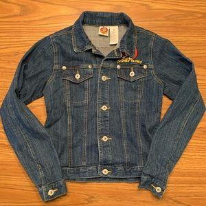 Vintage | 90s Looney Tunes Denim Jacket, Size M